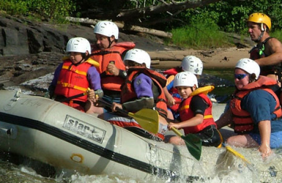 Discovery rafting