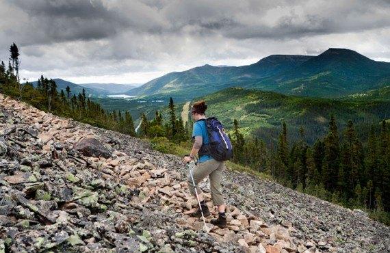 Randonnée dans le Parc de la Gaspésie