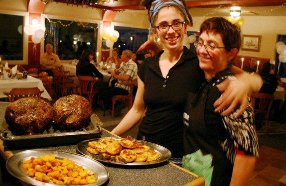 Auberge Manoir des Sapins - Le souper à la table du chambreur
