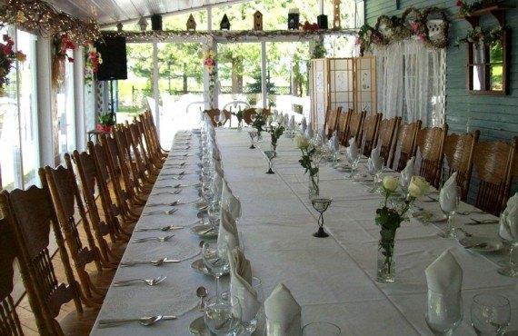 Aux Jardins Champêtres - Salle à manger