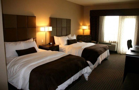 Best Western Plus Wine Country - chambre 2 lits