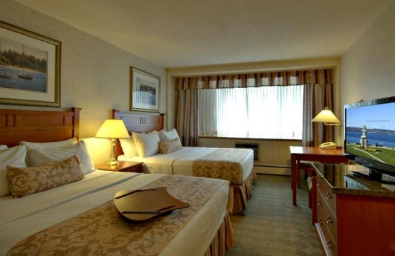 Best Western Sands Vancouver - Chambre 2 lits