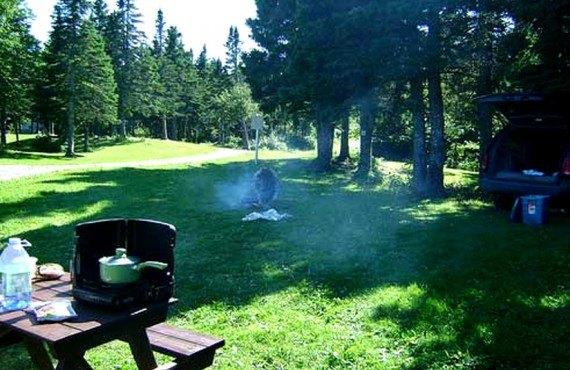 Terrain de camping - Percé