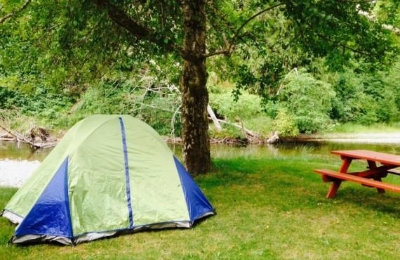 Site pour tente
