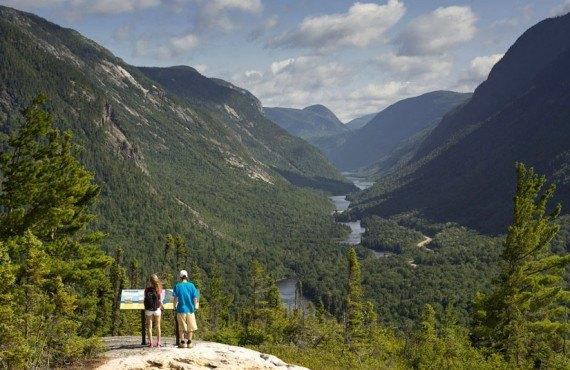 Vue du Parc national des Hautes-Gorges