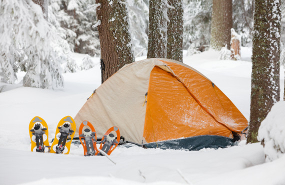 Camping en hiver