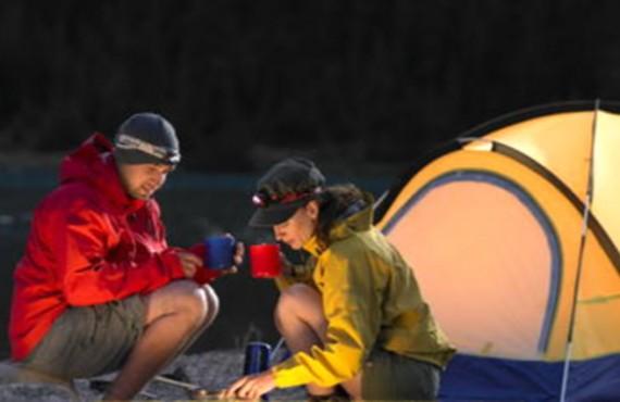 Camping du Lac Louise - Tente