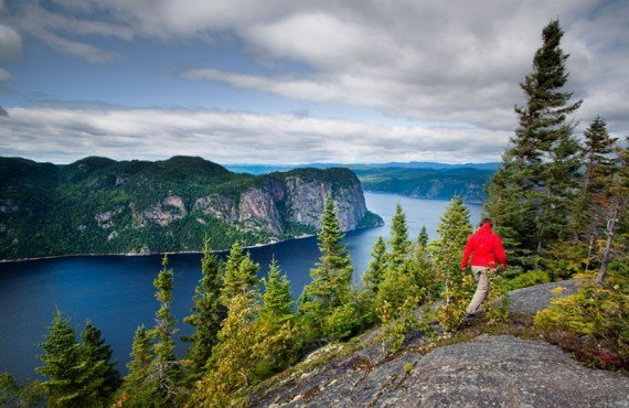 Hiking in Saguenay Park