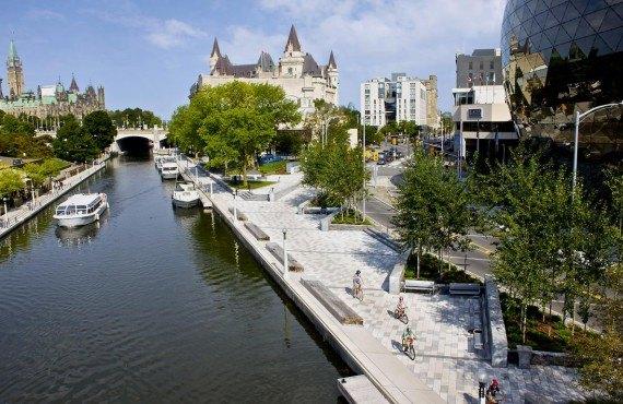 Le Canal Rideau à Ottawa