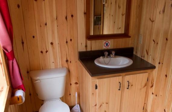 Chalet Lac Sept Îles - Salle de bain
