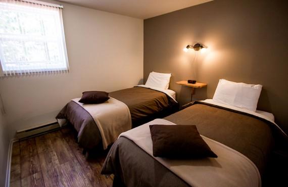 Chalets du Fjord - Chambre 2 lits