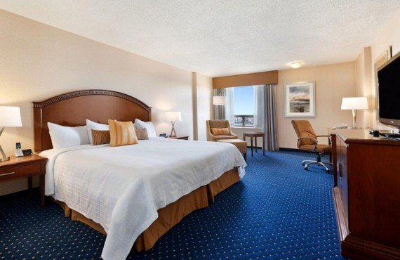 Coast Plaza Calgary - Chambre lit king