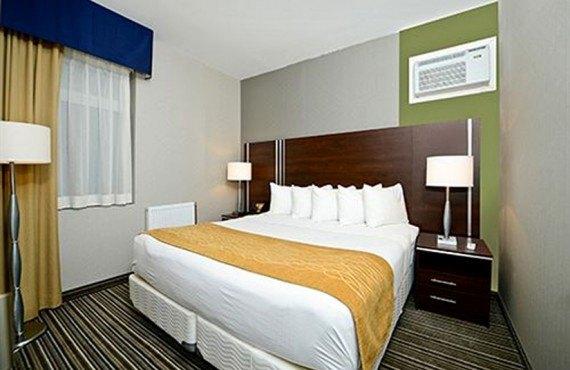 Comfort Inn Toronto - Chambre lit King