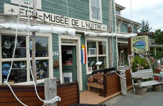 Eco-Musée de l'Huître, Caraquet, Nouveau-Brunswick