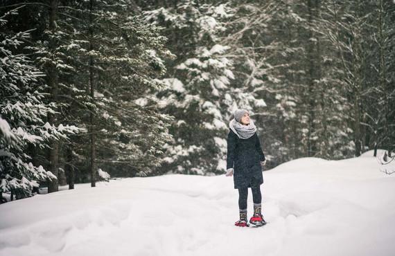 Explorez l'hiver en raquettes