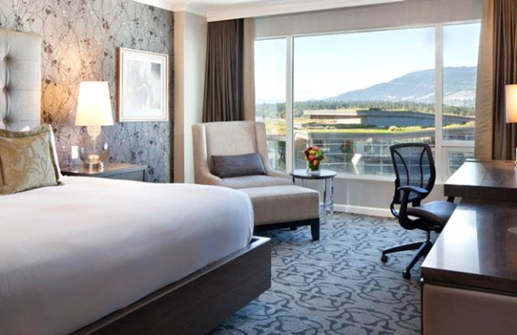 Fairmont Waterfront - Chambre Deluxe