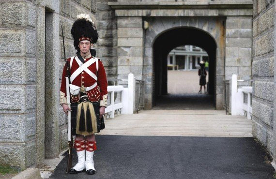 Guard of the Halifax Citadel