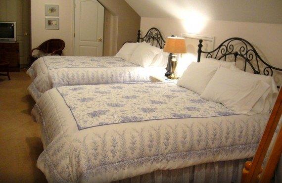 Gîte Ocean View - Chambre 2 lits