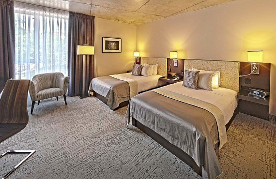 Hôtel 10 - Chambre 2 lits