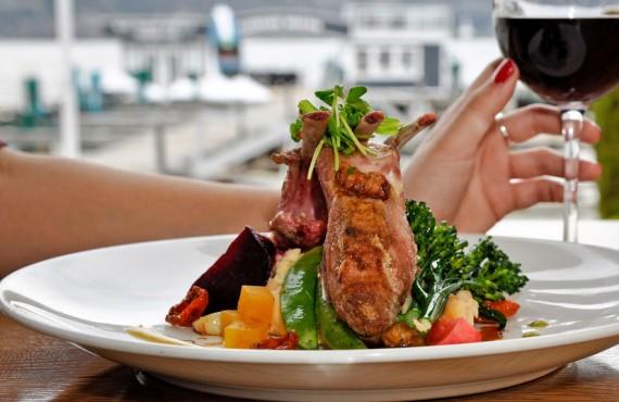 Hôtel Eldorado - Repas au Lakeside Dining