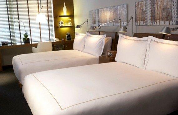 Hôtel Le Germain - Chambre 2 lits Queen