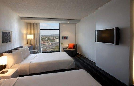 Hôtel Pur - Chambre 2 lits