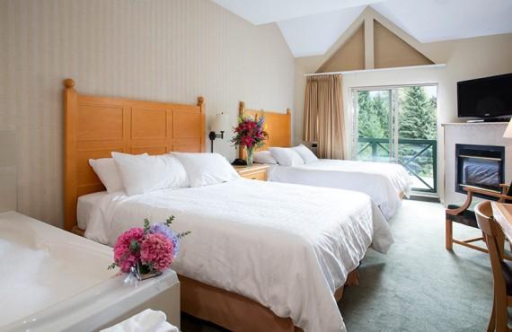 Hôtel Whistler Pinnacle - Stusio 2 lits et Jacuzzi