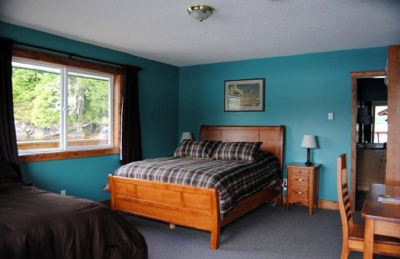 Knight Inlet Lodge - Chambre