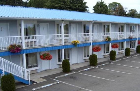 Motel Ocean Crest - Cour arrière