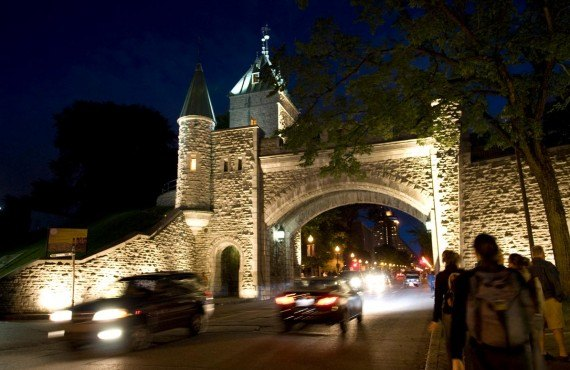 St-Louis Gate, Old Quebec