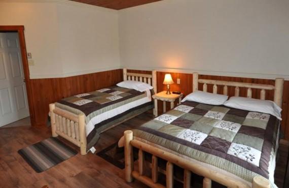 Pourvoirie du Nord - Chambre 2 lits