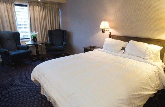 Hôtel Prince Rupert - Chambre standard lit Queen