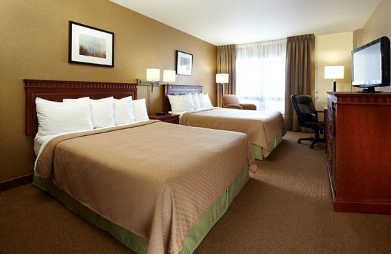 Quality Inn & Suites Aeroport - Chambre 2 lits