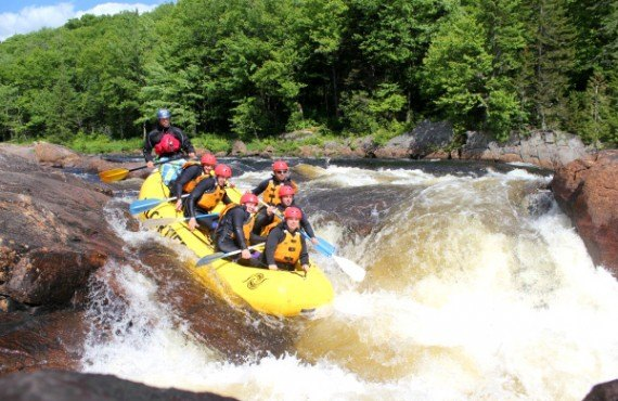 Rafting sur la Jacques-Cartier
