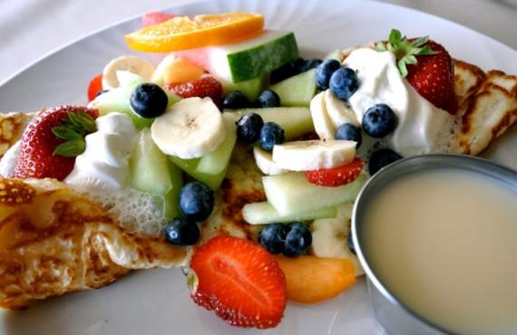 Riôtel Percé - Les déjeuners continentaux