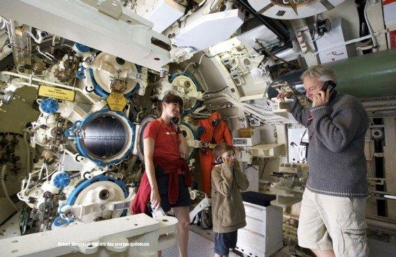 À bord du sous-marin