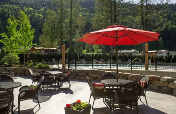 Springs RV Resort - Terrasse