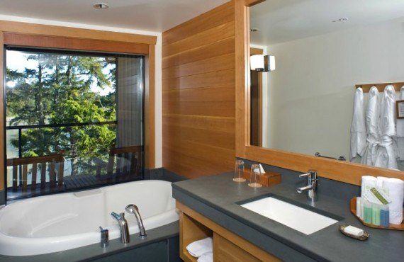 Wickanninnish Inn - Salle de bain Deluxe