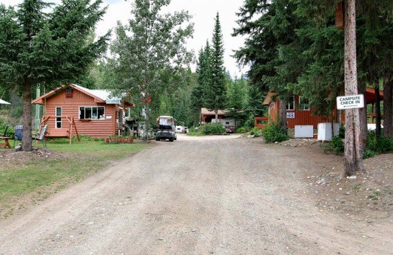 Camping Wells Gray Golf RV park - Acceuil
