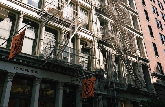 Le Quartier Soho de New York