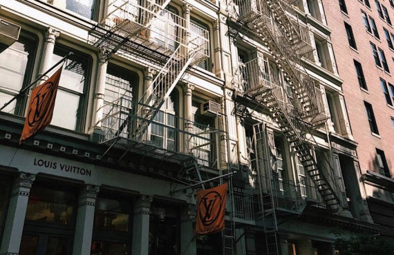 Le Quartier Soho de New York