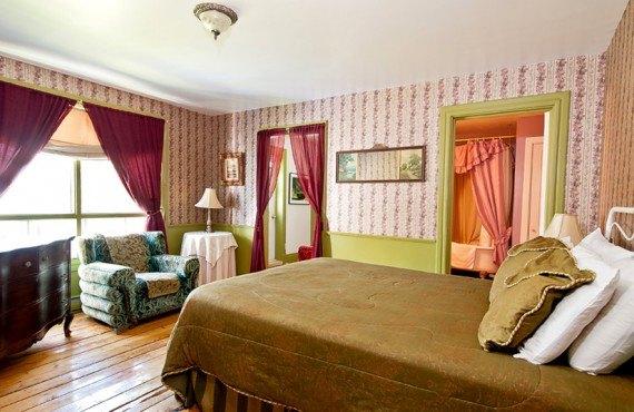 Auberge des Îles du Bic - Chambre lit Queen