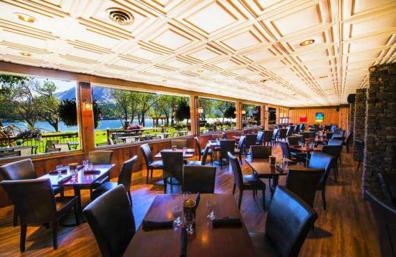 Lake view restaurant