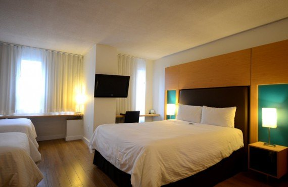 Bond Place Hotel - Chambre 3 lits