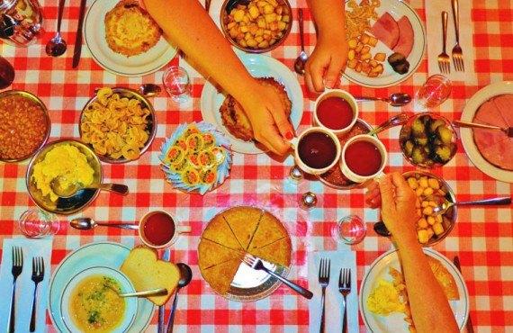 Repas canadien traditionnel