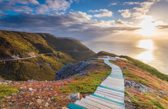 Le Skyline Trail, Cap-Breton, NE