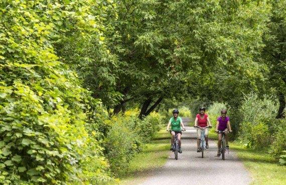 Randonnée à vélo - Sentier de l'Île-de-la-Commune