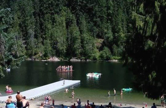 Camping Williamson's Lake - Plage