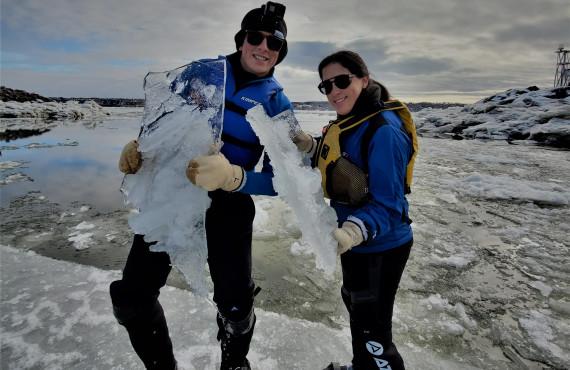 Les glaces du St-Laurent