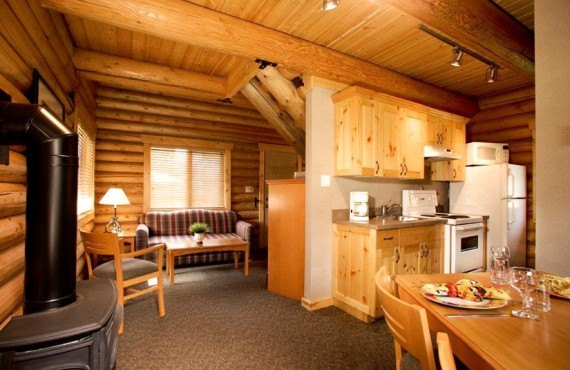 Chalets Pocahontas - Executive Log Cabin